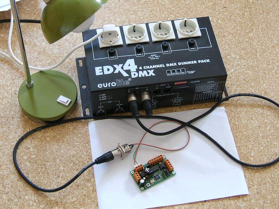 OpenDecoder - for DCC to DMX